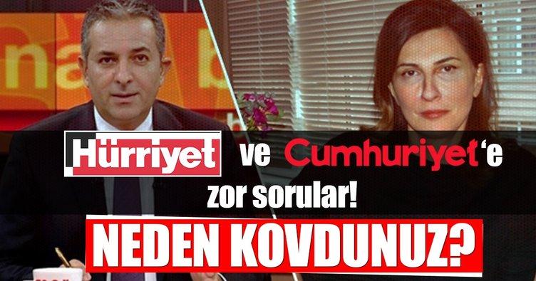 Hürriyet ve Cumhuriyet'e zor sorular!