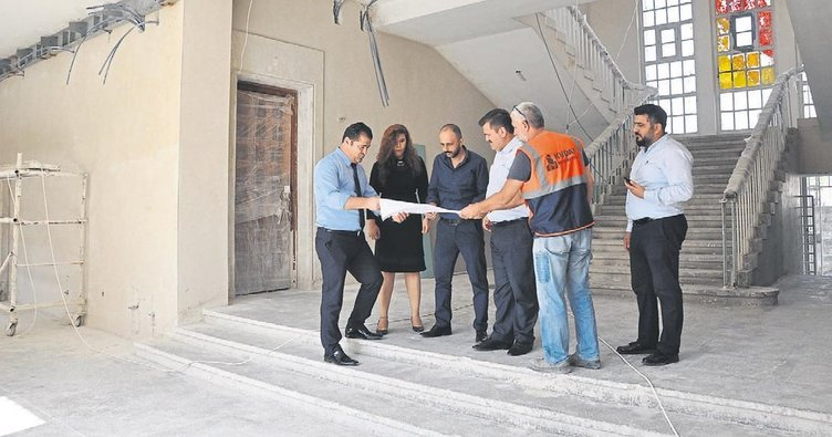 Eski adliye sarayı Tarsus'a yakışan bir müze olacak