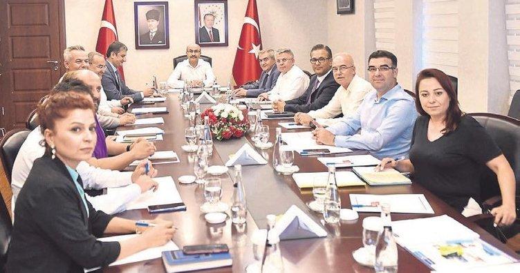 Adana Lezzet Festivali yürütme kurulu toplantı