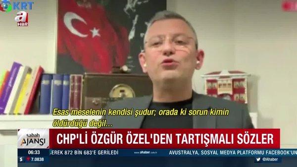 CHP'li Özgür Özel'den Gara katliamı ile ilgili skandal açıklama | Video