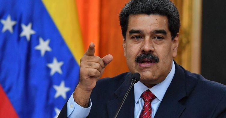 Maduro, ABD ve Kolombiya'yı ülkesine komplo kurmakla suçladı