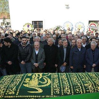 Oğuz Çetin'in acı günü Baba Çetin toprağa verildi