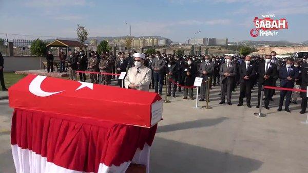 Şehit polis, törenle son yolculuğuna uğurlandı | Video