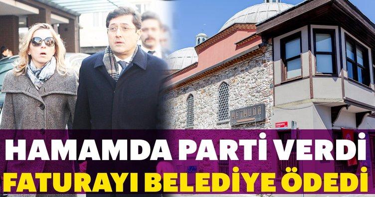 Murat Hazinedar'ın eşine suçlama: Hamamda parti verdi, faturayı belediye ödedi