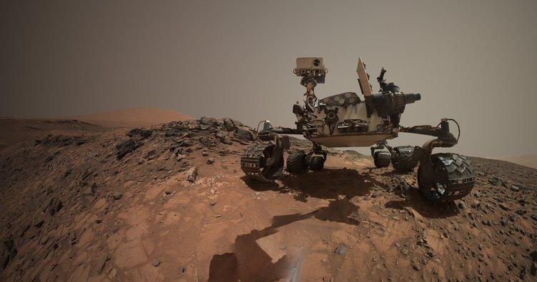 Mars'ta görev yapan Opportunity robotu kayboldu