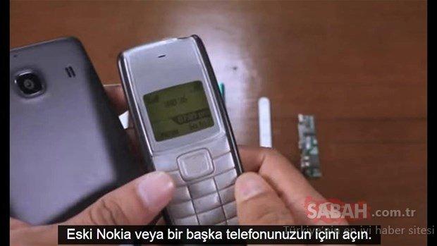 Sakın atmayın! Eski telefonunuzdan böyle faydalanabilirsiniz