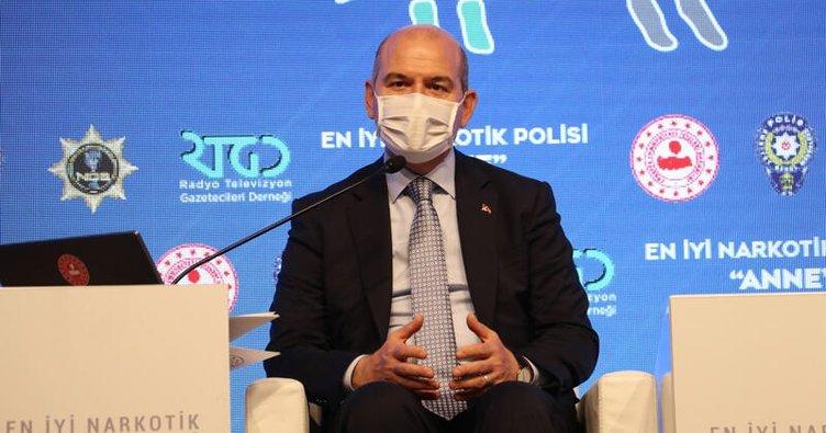 """İçişleri Bakanı Süleyman Soylu: """"Şehirlerin atık sularında uyuşturucu madde analizi yapıyoruz"""""""