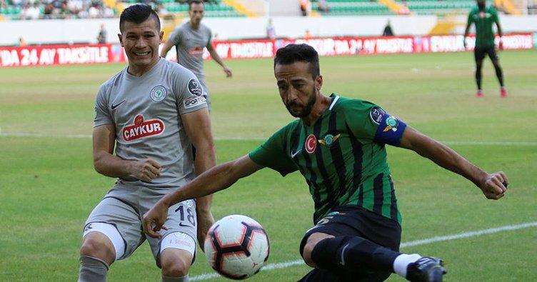 Akhisarspor ile Çaykur Rizespor puanları paylaştı