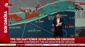 İşte harita üzerinde Rusya ile anlaşmaya varılan Suriye mutabakatının detayları