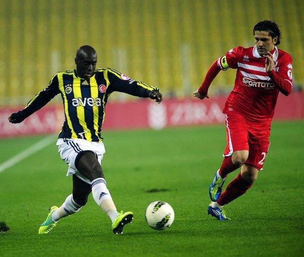 Fenerbahçe Samsunspor maçından kareler