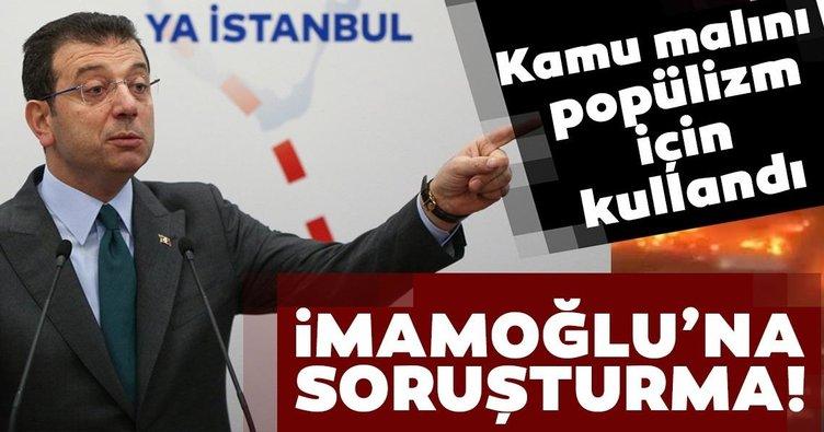 İmamoğlu'na Kanal İstanbul soruşturması: Kamu malı popülizm için kullanılamaz