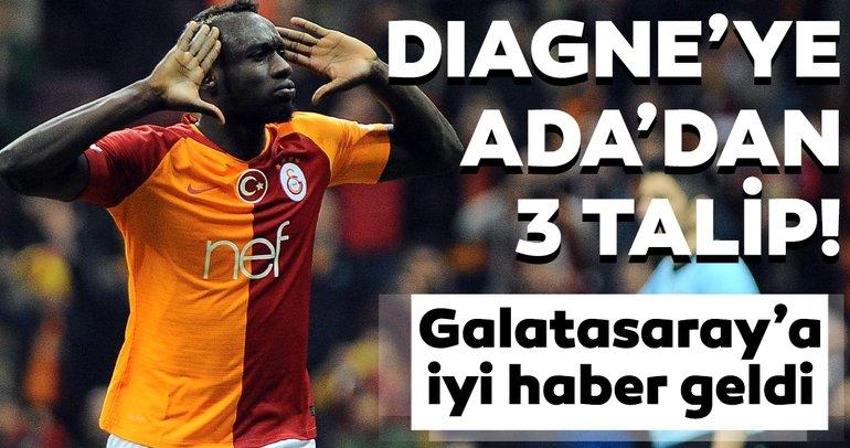 Galatasaray'da son dakika transfer haberi! Mbaye Diagne'ye İngiltere'den 3 talip