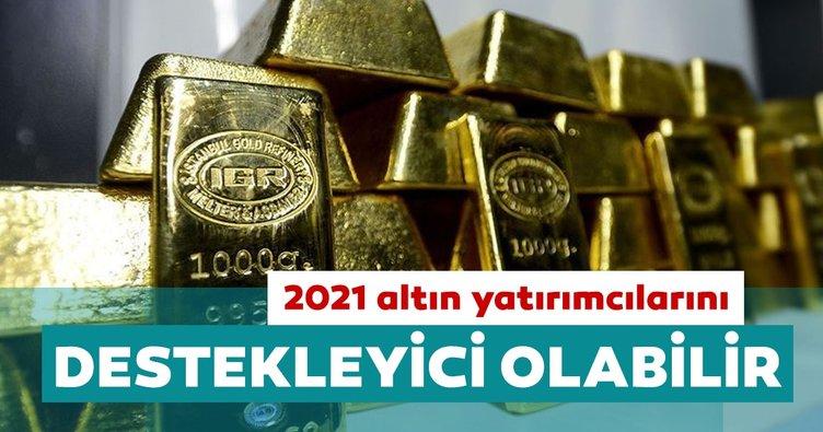 Dünya Altın Konseyi: 2021 altın yatırımcılarını destekleyici olabilir