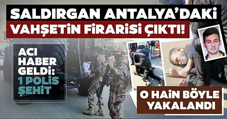 Son dakika haberi: Kahramanmaraş'ta polis memurunu şehit eden Muhammet Karataş yakalandı!