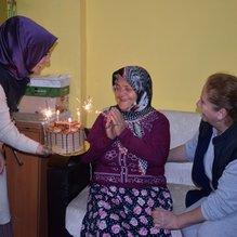 112 yaşında ilk defa doğum gününü kutladı