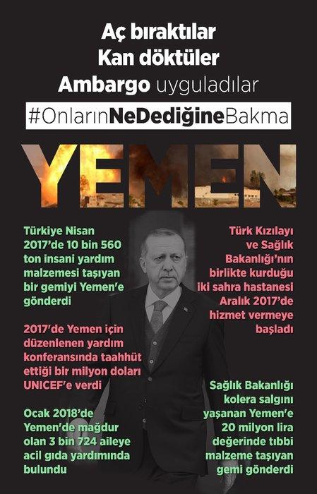 Twitter'da Cumhurbaşkanı Erdoğan'a yapılan saldırılara sert yanıt
