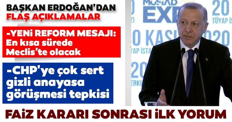 Son dakika: Merkez Bankası'nın faiz kararı ile ilgili Erdoğan'dan ilk yorum