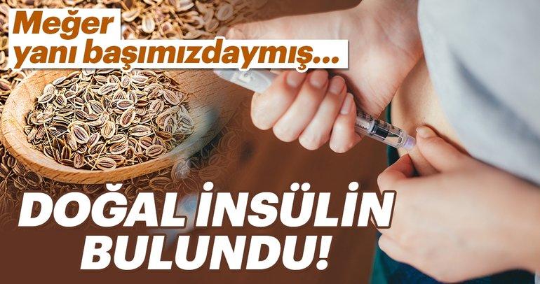 Şeker hastalarına müjde gibi haber...Doğal insülin bulundu!