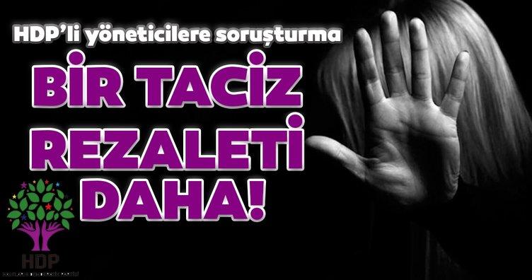 SON DAKİKA! HDP'de bir tecavüz skandalı daha! 5 parti yöneticisine soruşturma...