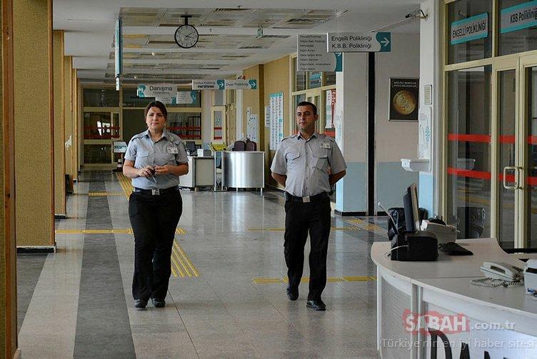 Hastane güvenlik görevlisinin dikkati, hayat kurtardı