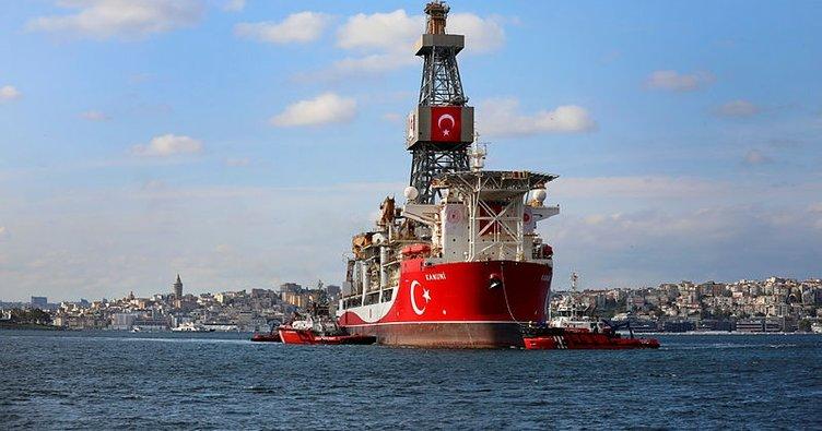 Sondaj gemisi Kanuni Haydarpaşa Limanı'nda