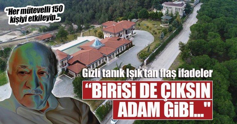 Bursa'daki FETÖ/PDY davasında flaş ifadeler
