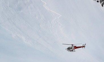 İsviçre'de 10 kişi çığın altında kaldı