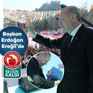 Başkan Erdoğan'dan Ereğli'de önemli açıklamalar