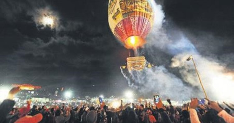 Sıcak hava balonu patladı: 9 yaralı