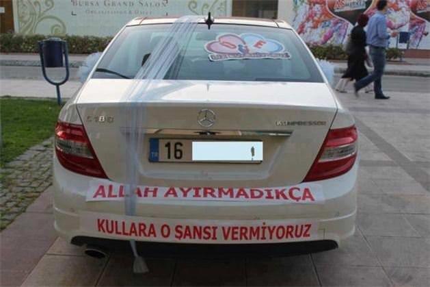 Türklere özgü araba arkası yazıları