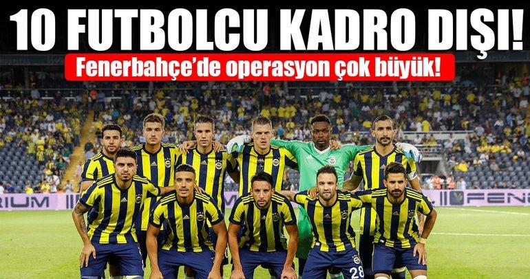 Fenerbahçe'de operasyon çok büyük!