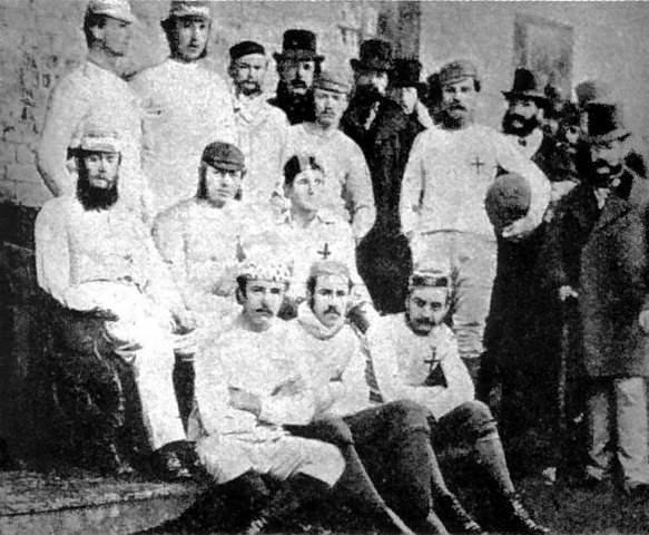 Dünyanın ilk futbol kulübü