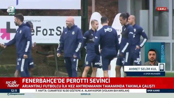 Diego Perotti'den Fenerbahçe'ye iyi haber!