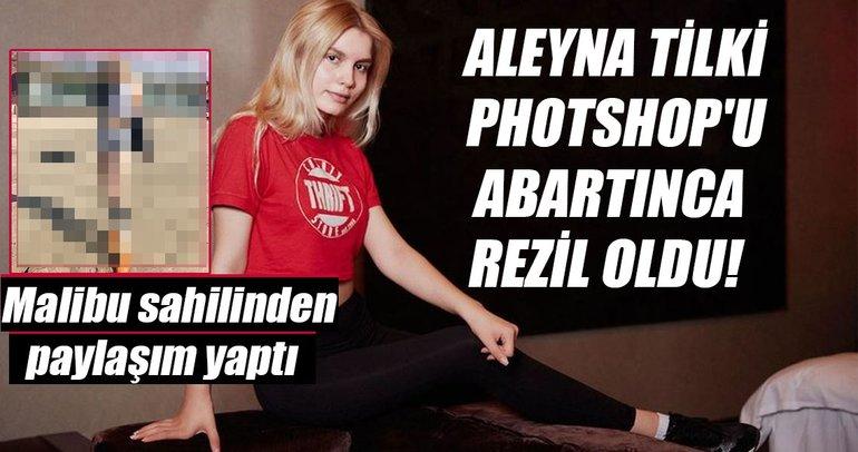 Photoshop'u abartan ünlü isimler (Aleyna Tilki )