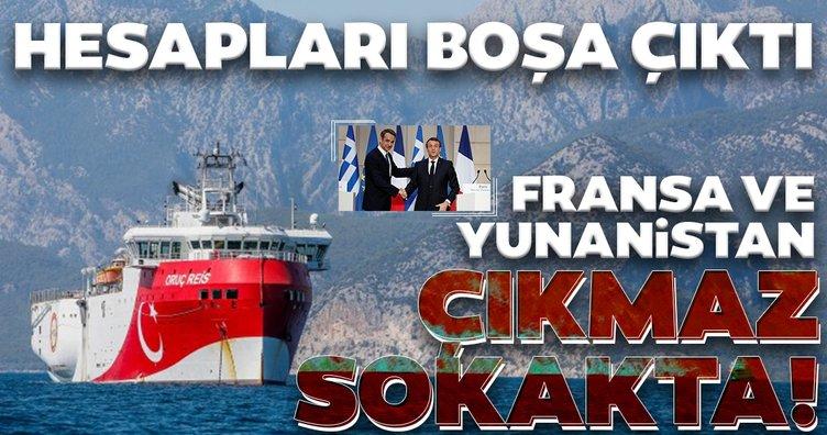 Fransa ve Yunanistan ne yapmaya çalışıyor? Fransa ve Yunanistan'ın boşa çıkan hesapları...