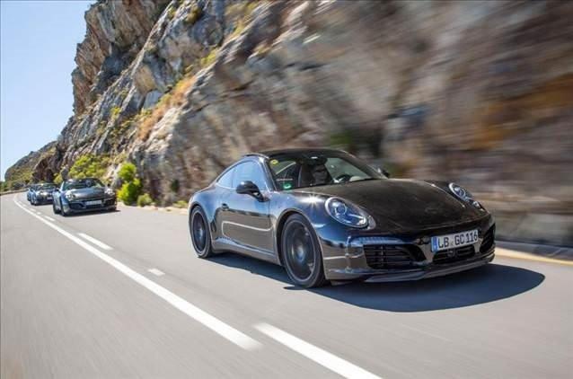 Makyajlı Porsche 911