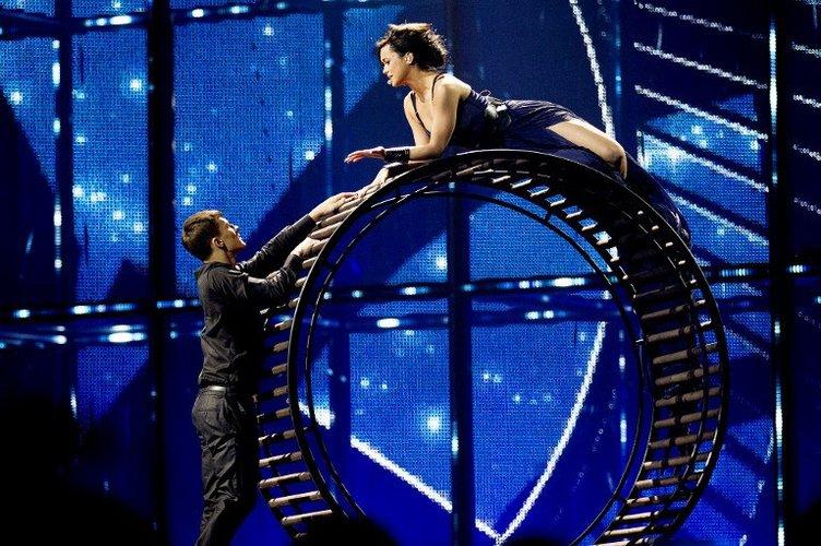 Eurovision'da ilk yarı final oldu