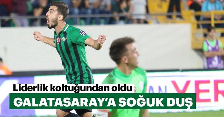Galatasaray'a soğuk duş
