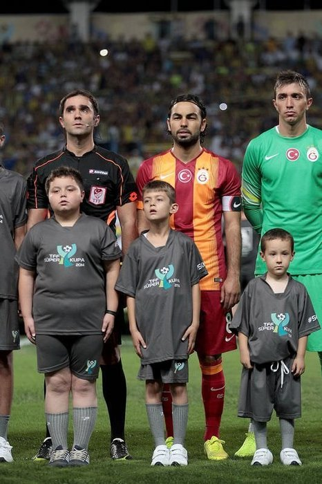 Süper Kupa maçında duygusal anlar