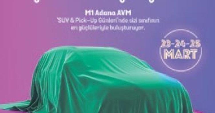 M1 Adana AVM'de SUV ve Pick-Up fuarı