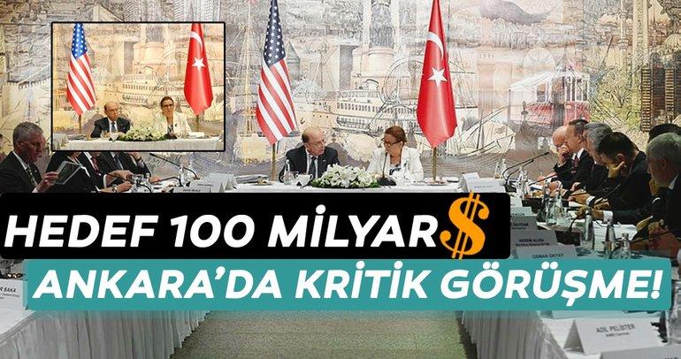 100 milyar dolarlık hedef masaya yatırıldı