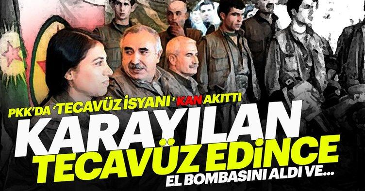 PKK'nın gözü dönmüş sözde yöneticilerinin kadın istismarı ayyuka çıktı: Karayılan tecavüz edince...
