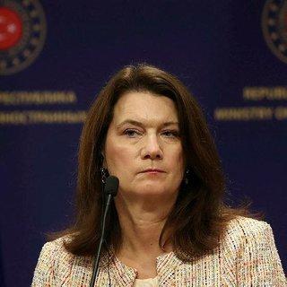 İsveç Dışişleri Bakanı Ann Linde şaşırtmadı! Ayağının tozuyla PKK'ya heyet yolladı