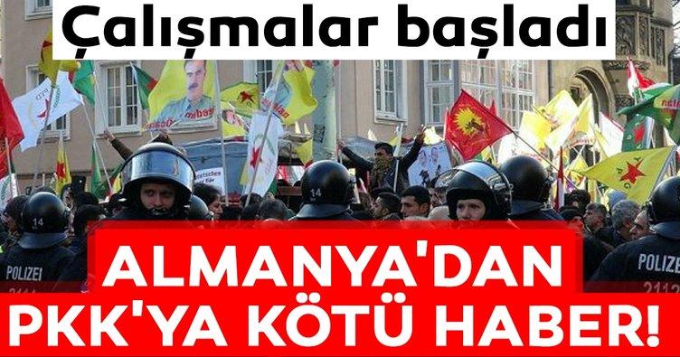 Almanya'dan PKK'ya kötü haber! Terör örgütlerinin eylem yeri...