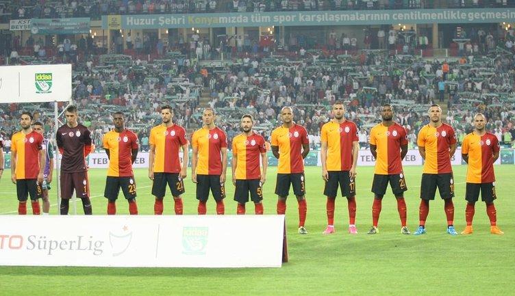 Torku Konyaspor - Galatasaray maçından kareler