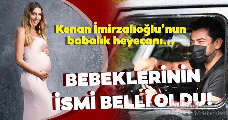 Kenan İmirzalıoğlu ile Sinem Kobal çiftinin bebeklerinin ismi belli oldu!Kenan İmirzalıoğlu ilk kez açıkladı...