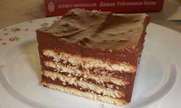 Petibör pasta tarifi...Bisküvili pasta, Petibör pasta nasıl yapılır?