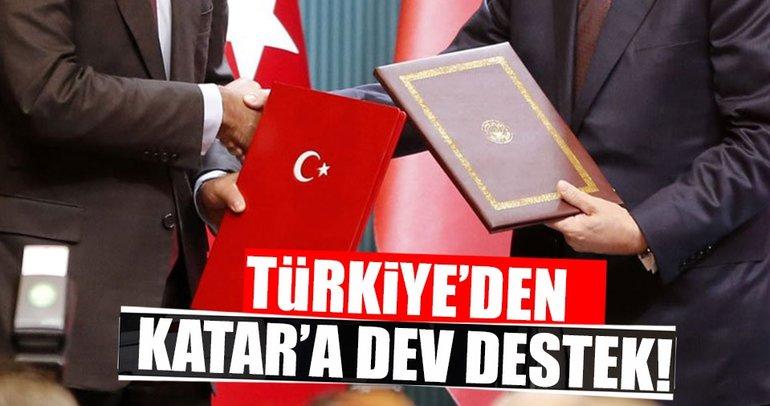 Türkiye'den Katar'a gıda desteği!