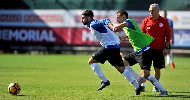 Antalyaspor, Eto'o'suz çalıştı