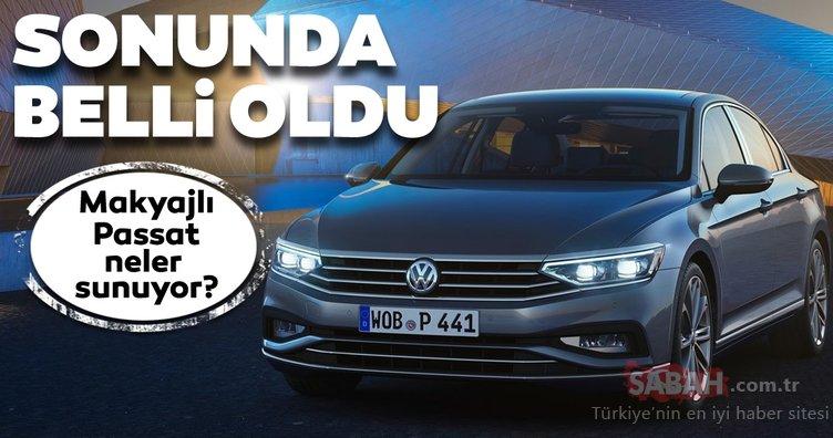 2020 Volkswagen Passat Türkiye fiyatı belli oldu! Makyajlı yeni Volkswagen Passat ne kadar? Özellikleri nedir?